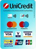 Pezzamificio accetta pagamenti bancomat e carte di credito